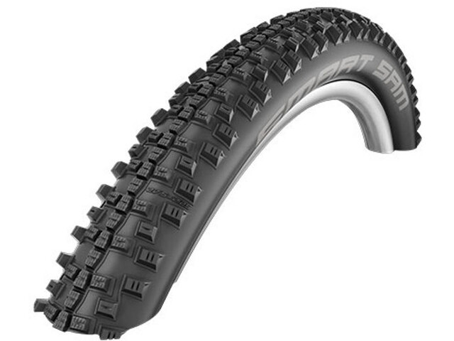 "SCHWALBE Smart Sam Wired-on Tire 26"" Addix Plus Performance SnakeSkin Greeng black"
